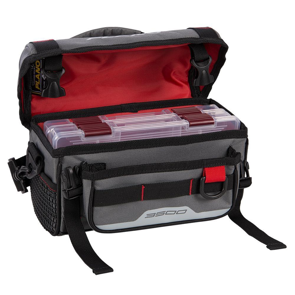 Plano Weekend Series Softsider™ Tackle Bag - 2-3500 Stowaways Included - Gray