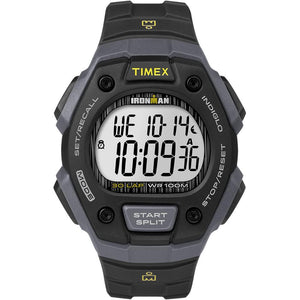Timex IRONMAN® Classic 30 Lap Full-Size Watch - Black