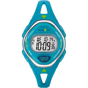 Timex IRONMAN® Sleek 50 Mid-Size Silicone Watch - Turquoise