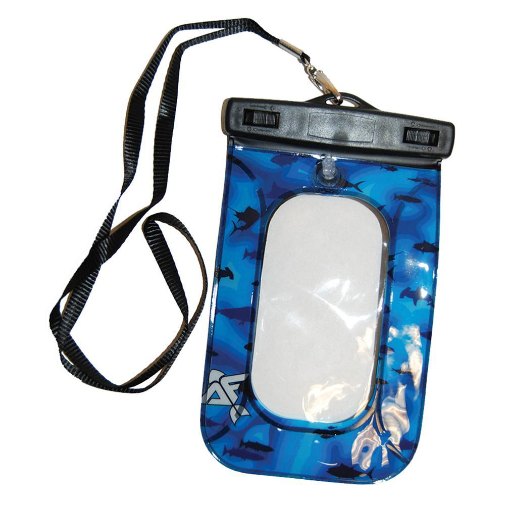 Taylor Made Waterproof Phone Case - Blue Sonar