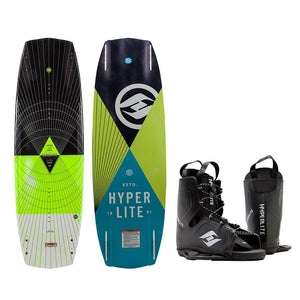 Hyperlite Baseline Wakeboard - 136cm w-Frequency Boot - Size 5-12