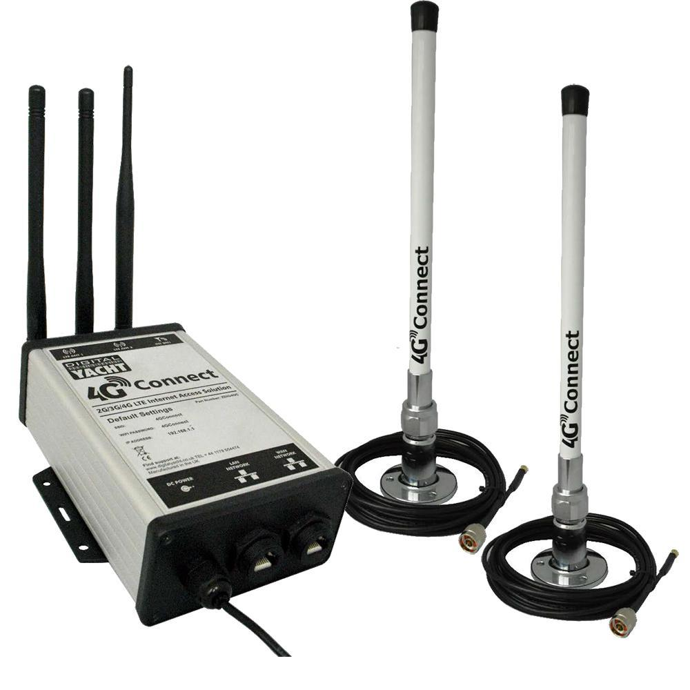 Digital Yacht 4G Connect Pro 2G-3G-4G Dual Antenna
