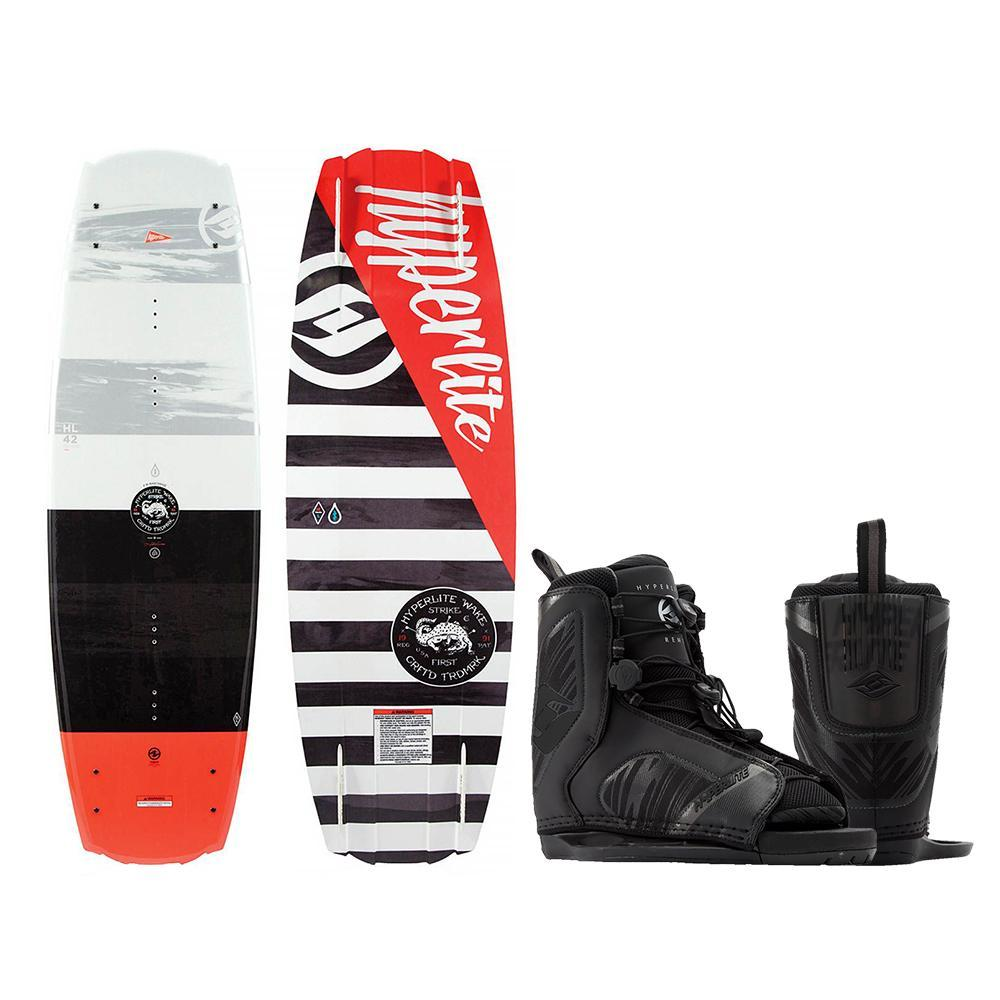 Hyperlite Franchise Wakeboard - 138cm w-Remix Boot Size 7-10.5