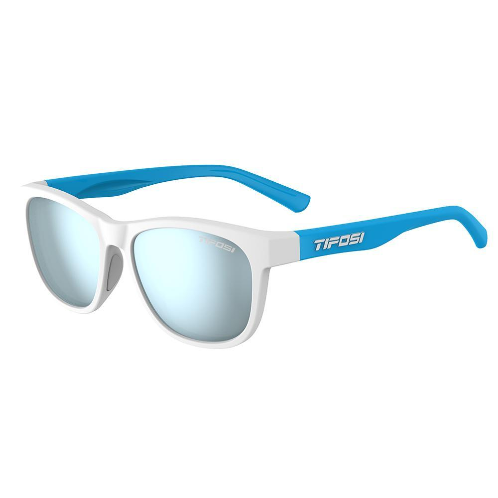 Tifosi Swank Frost-Power Blue Sunglasses - Smoke Bright Blue