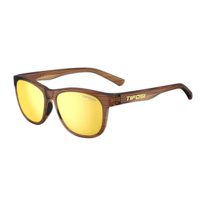 Tifosi Swank Woodgrain Sunglasses - Smoke Yellow