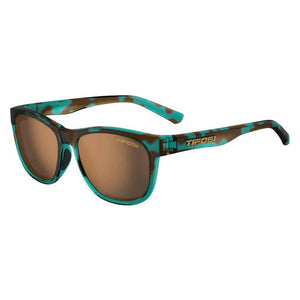 Tifosi Swank Blue Confetti Sunglasses - Brown Polarized