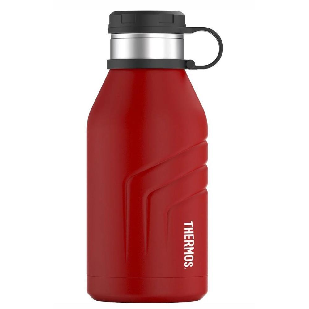 Thermos ELEMENT5 Vacuum Insulated Beverage Bottle w-Screw Top Lid - 32oz - Red