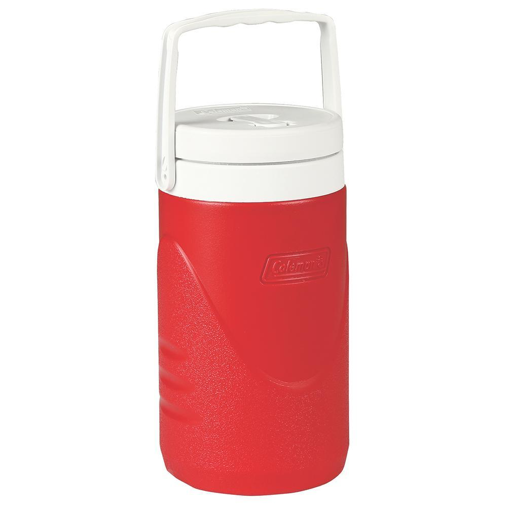 Coleman 1-2 Gallon Beverage Cooler - Red