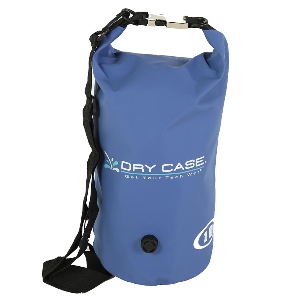 DryCASE Deca 10 Liter Waterproof Dry Bag - Blue