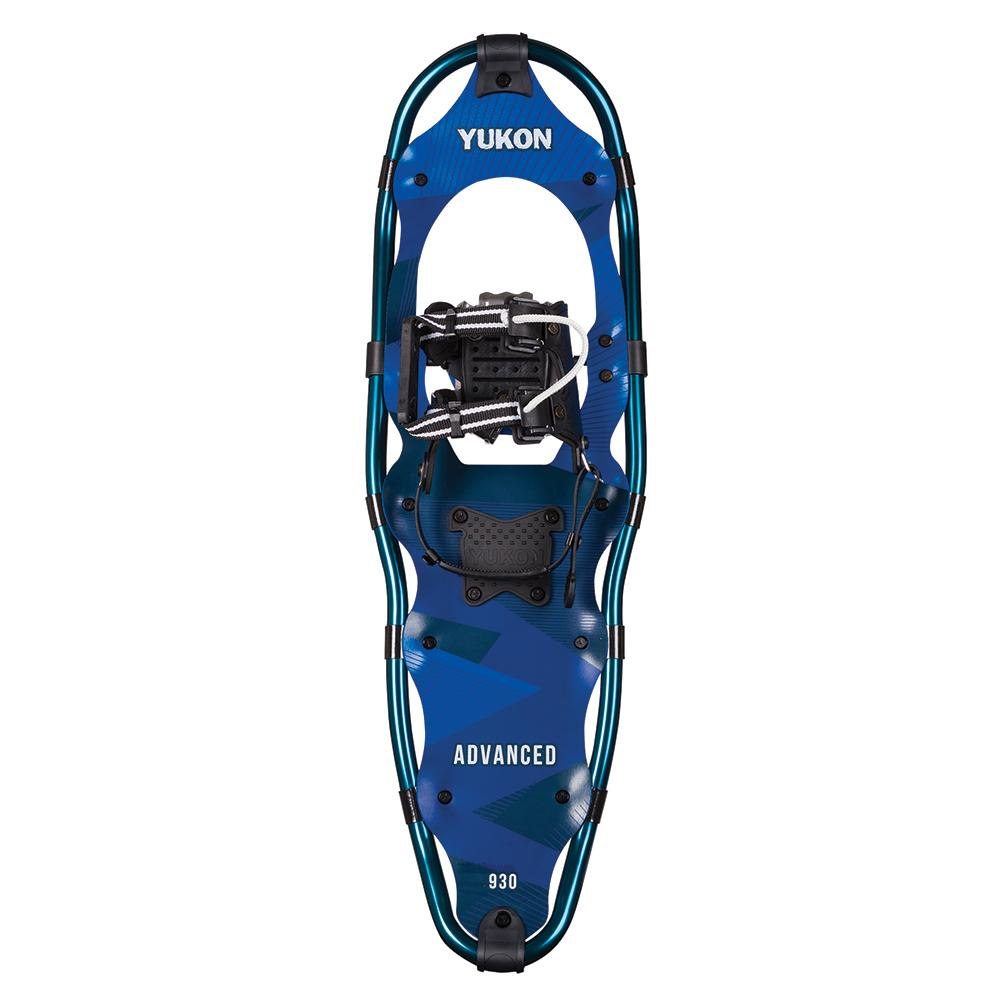 "YUKON Advanced Series Snowshoe 9"" x 30"" - Aqua - 250lbs Weight Capacity"