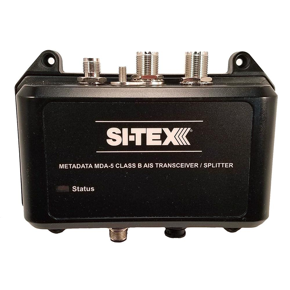 SI-TEX MDA-5 Hi-Power 5W SOTDMA Class B AIS Transceiver w-Built-In Antenna Splitter & Long Range Wi-Fi