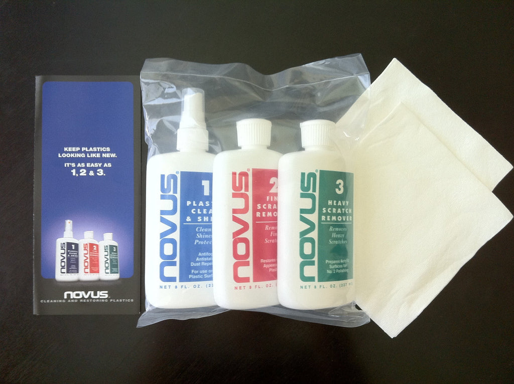 Novus Plastic Polish (8oz Kit)