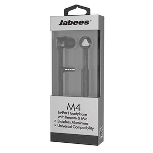 Jabees M4 In-Ear Headphone with Remote & Mic - Gray
