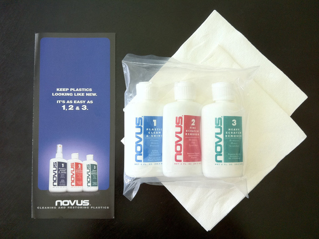 Novus Plastic Polish  (2oz Kit)