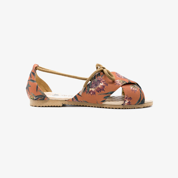 Protea Terracotta Sandal - Insecta Shoes