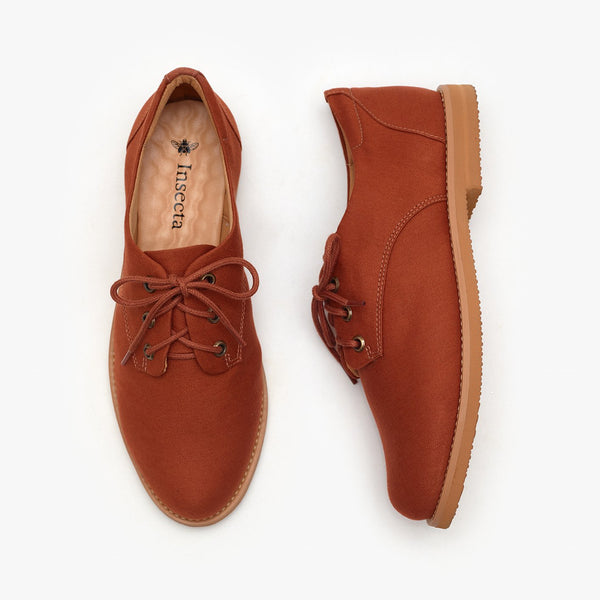 Almond Oxford - Insecta Shoes