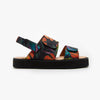 Folhagem Technicolor Strap Sandal - Insecta Shoes