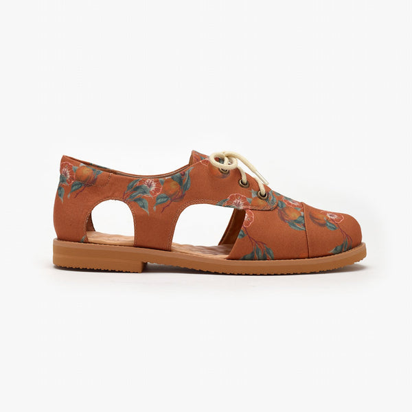 CLEMENTINE CUTOUT OXFORD - Insecta Shoes