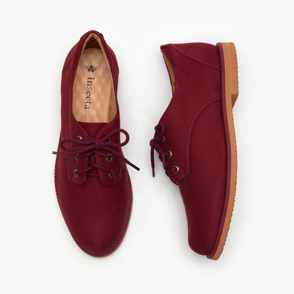 BORGONHA OXFORD - Insecta Shoes