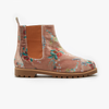 Velvet Camellia Chelsea Boot - Insecta Shoes
