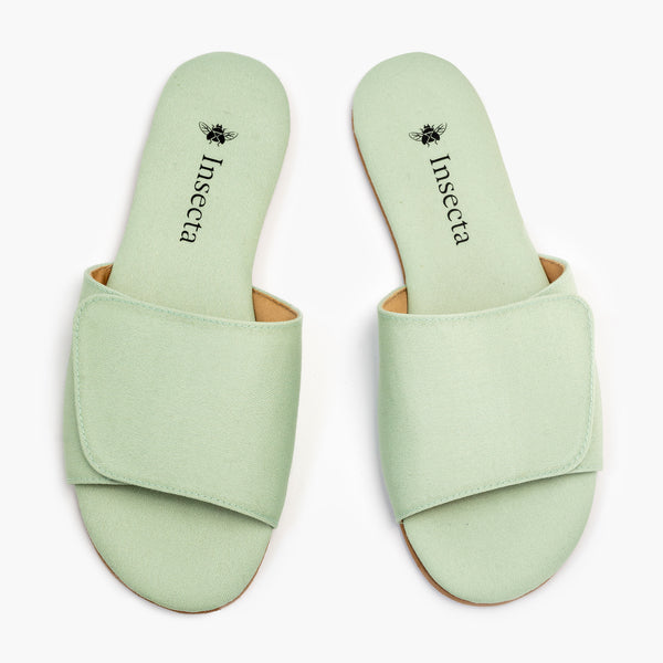 Pistachio Slipper - Insecta Shoes
