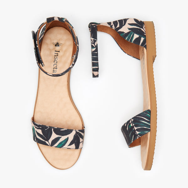 Sunset Leaves Sandal - Insecta Shoes