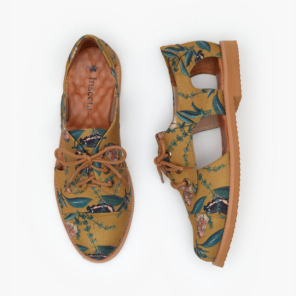 WOODLAND CUTOUT OXFORD - Insecta Shoes