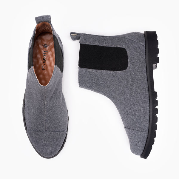MONO GRIS CHUNKY CHELSEA BOOT
