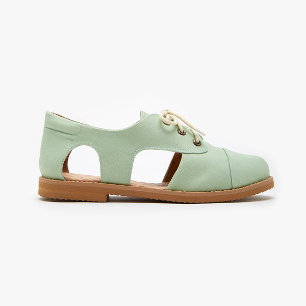 PISTACHIO  CUTOUT OXFORD - Insecta Shoes
