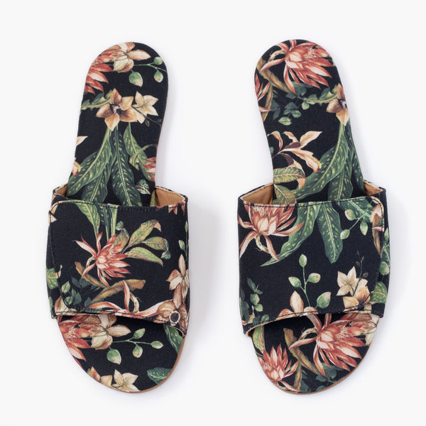 Flowering Cestrum Slipper - Insecta Shoes