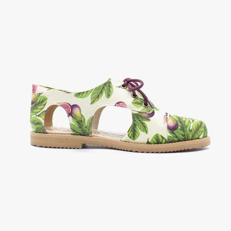 Figs Cutout Oxford - Insecta Shoes