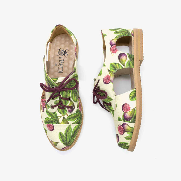 Figos Cutout Oxford - Insecta Shoes