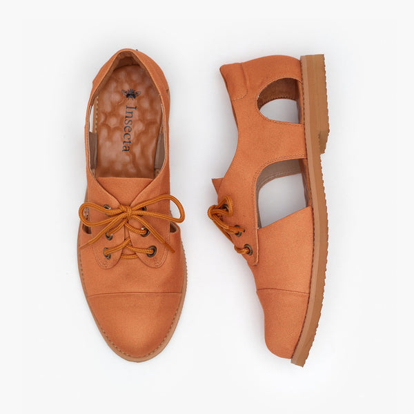 AMBER CUTOUT OXFORD - Insecta Shoes