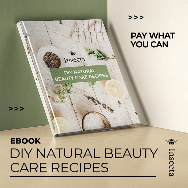 Ebook - Natural Beauty Recipes - Insecta Shoes