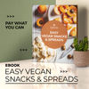 Ebook - Easy Vegan Snacks & Spreads - Insecta Shoes