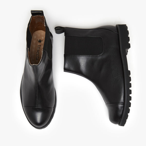 Laminado Preto Chelsea Boot - Insecta Shoes