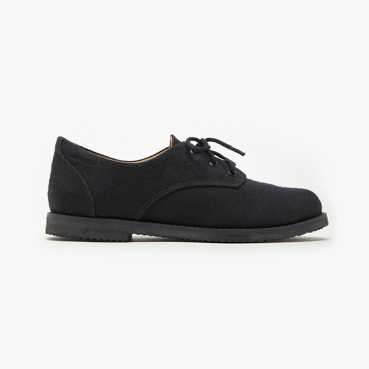 Mono Black Oxford - Insecta Shoes
