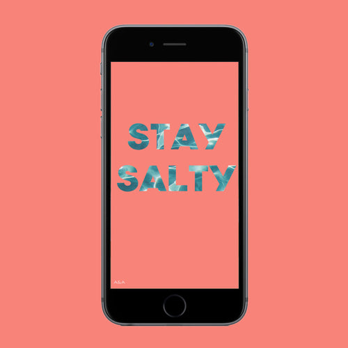 Stay Salty Wallpaper