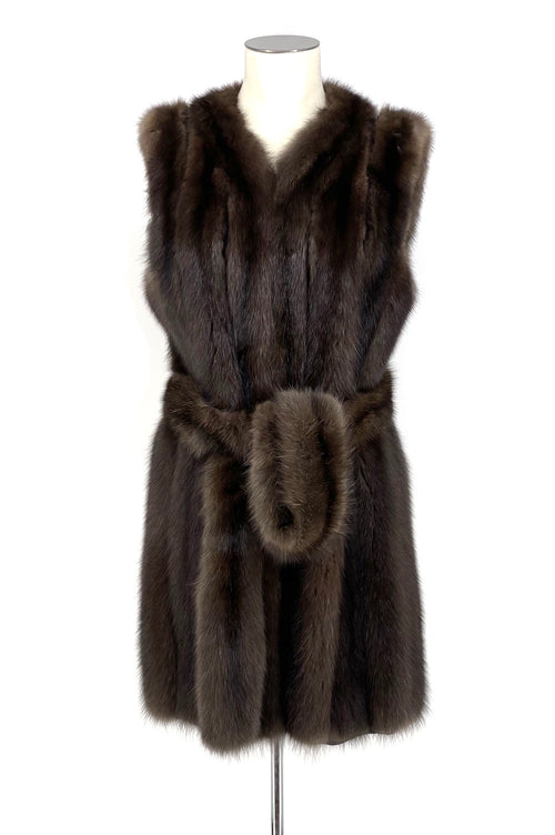Natural Barguzine Sable Gillet