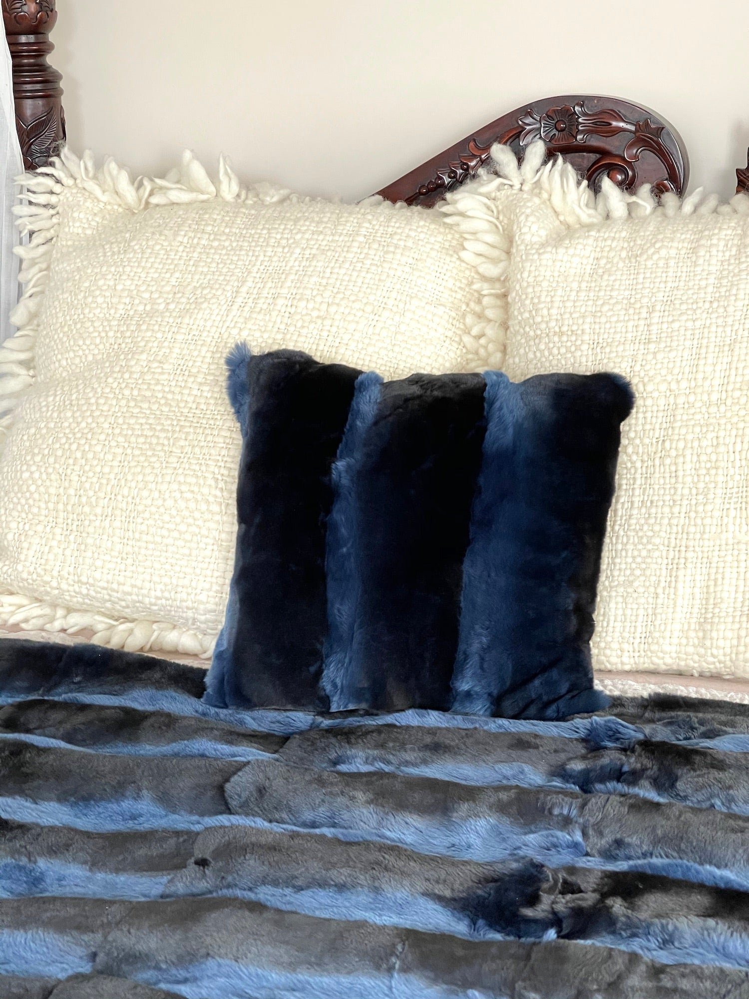 Blue Orylag Pillow