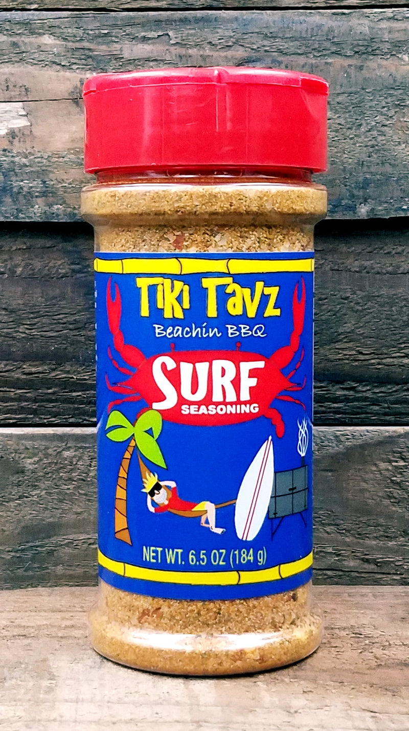 "Tiki Tavz Beachin BBQ ""Surf Seasoning"""