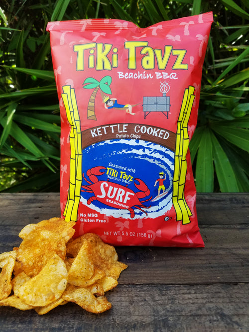 Kettle Cooked Surf Chips 10 pack