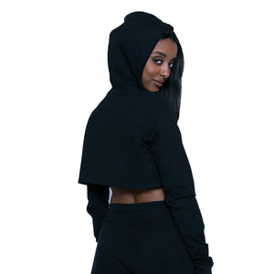 Grind - Women's Crop Top hoodie (Activewear)