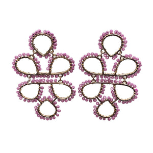 Isis Infinity Knot Seed Earrings