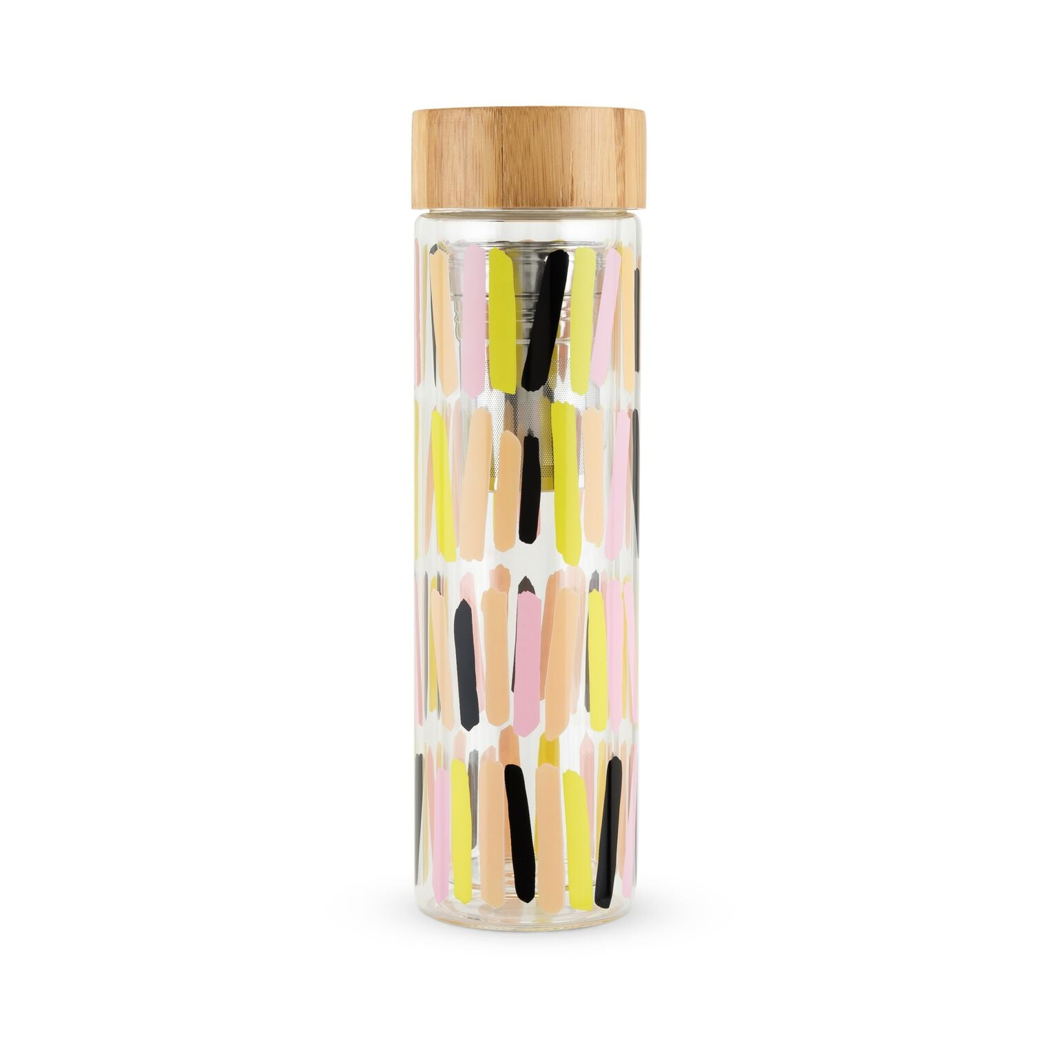 Blair Sprinkles Glass Travel Infuser Mug by Pinky Up