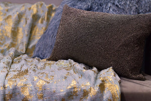 GEMMA METALLIC THROW