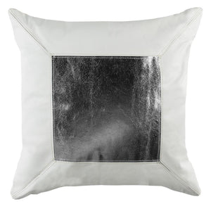 TINSLEY COWHIDE THROW PILLOW