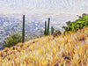 Tucson Landscape on Catalina Highway - Original Limited Edition Landscape Painting