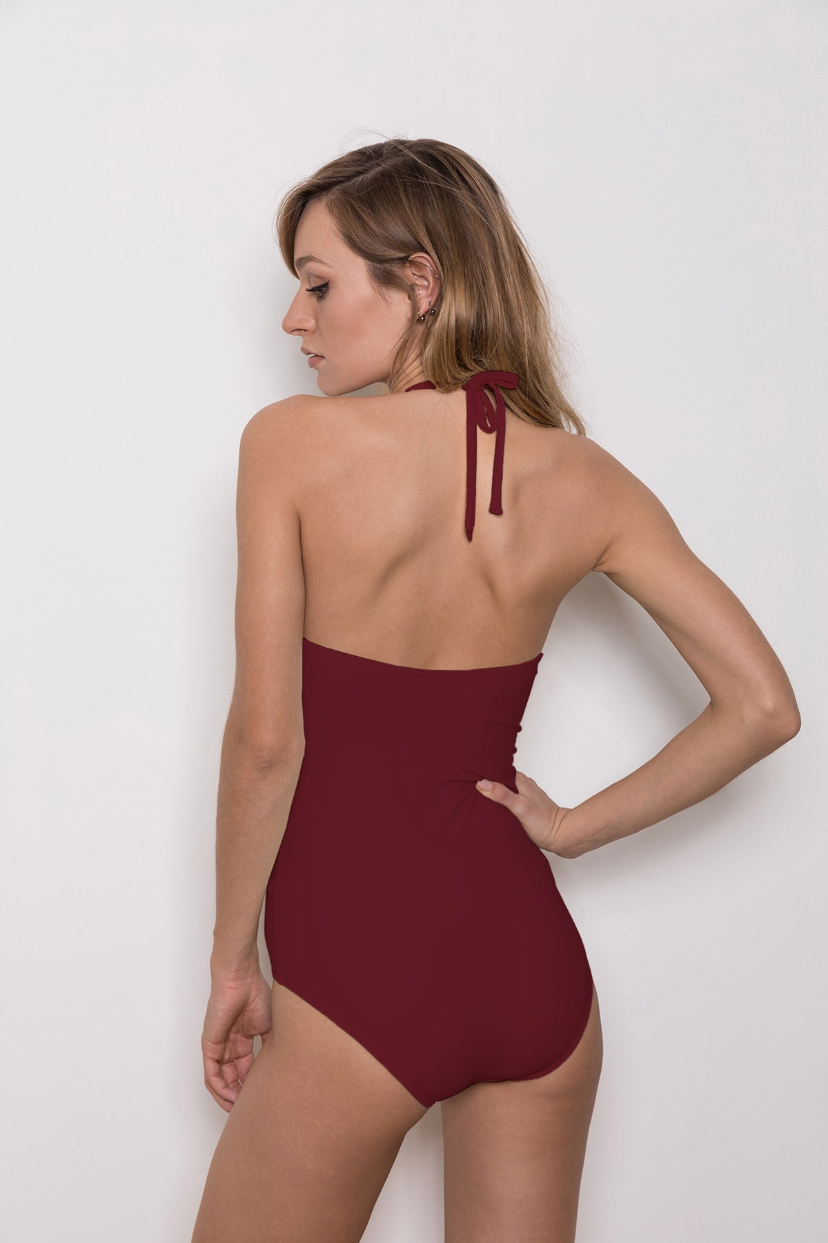 Swimsuit Nibaru Winered