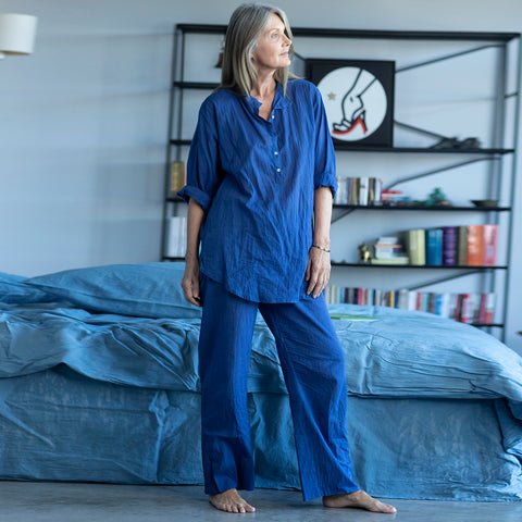 Pyjama pants Chandra Indigo (blue)